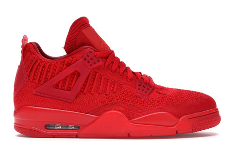 Air Jordan 4 Retro Flyknit Red
