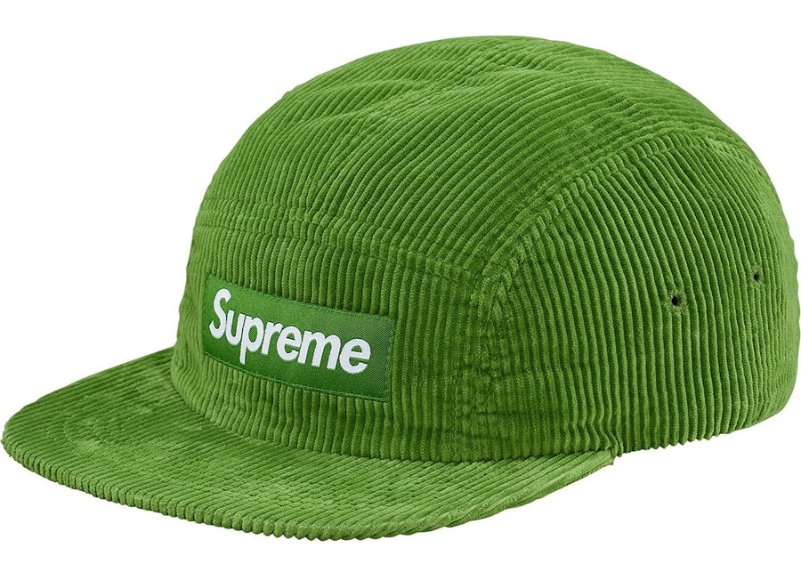 Supreme Corduroy Camp Cap (SS18) Green