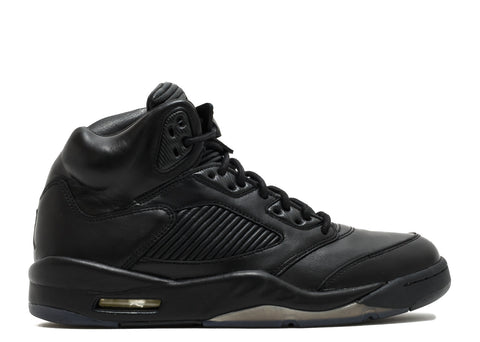 Air Jordan 5 Retro Premium Triple Black