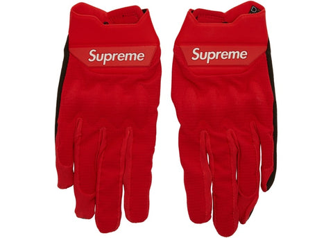 Supreme Fox Racing Bomber LT Gloves Red
