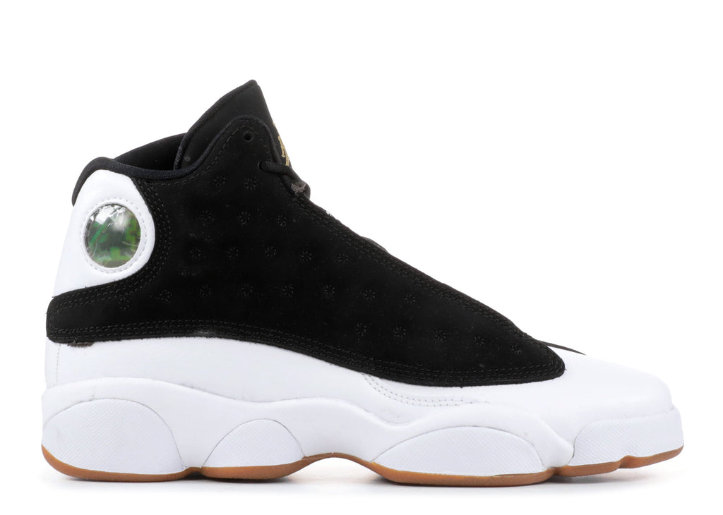 big sale b9815 2762f Jordan 13 Retro Black White Gum (GS). Previous Next