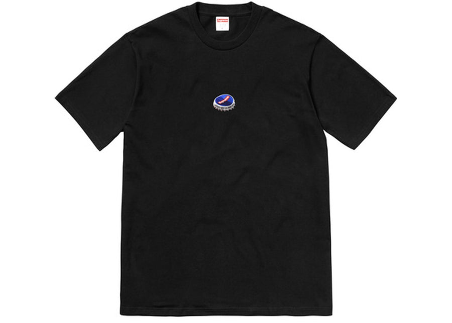Supreme Bottle Cap Tee BLACK