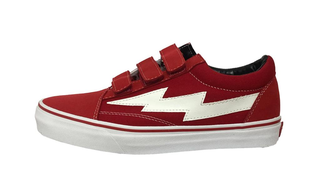 Revenge X Storm Low Top Velcro Red