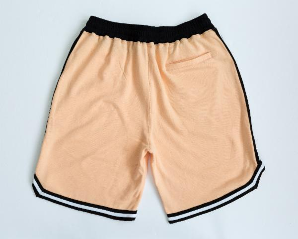 Rubbish NYC Zipper Pocket Shorts Apricot