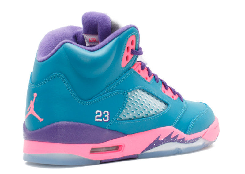"Air Jordan 5 Retro Tropical Teal"" GS"