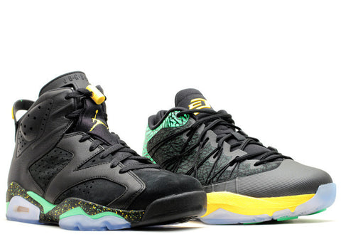 Air Jordan Brazil World Cup Pack (AJ6 CP3 III)