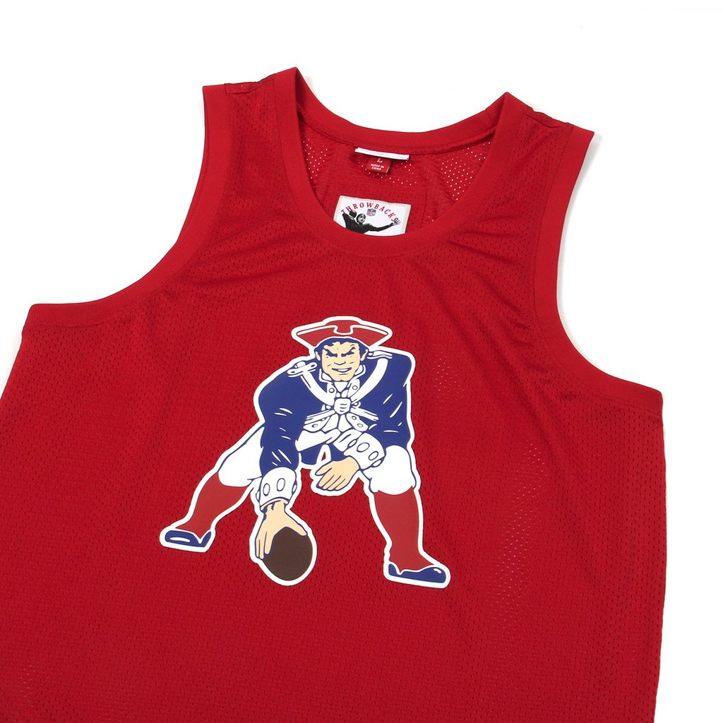 MITCHELL & NESS X CONCEPTS MESH TANK-TOP NEW ENGLAND PATRIOTS