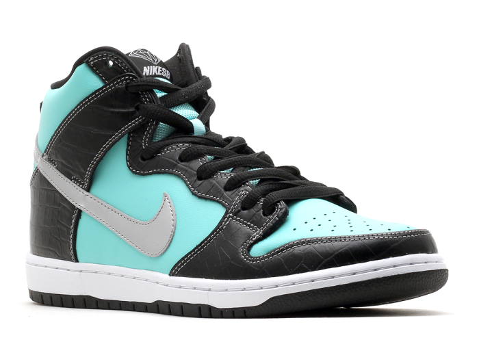 "Nike Dunk Hi Prm SB ""Diamond"""