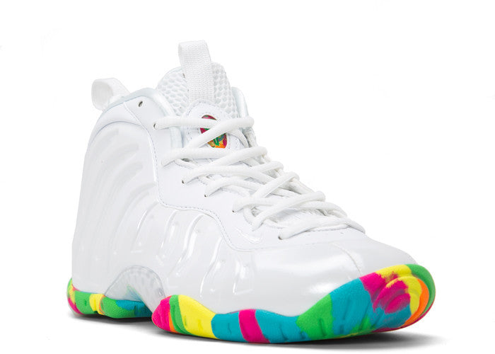 half off 174f1 89211 Nike Lil Posite One White Fruity Pebbles GS 2015