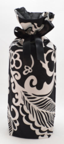 Black and White Cotton Gift Bag
