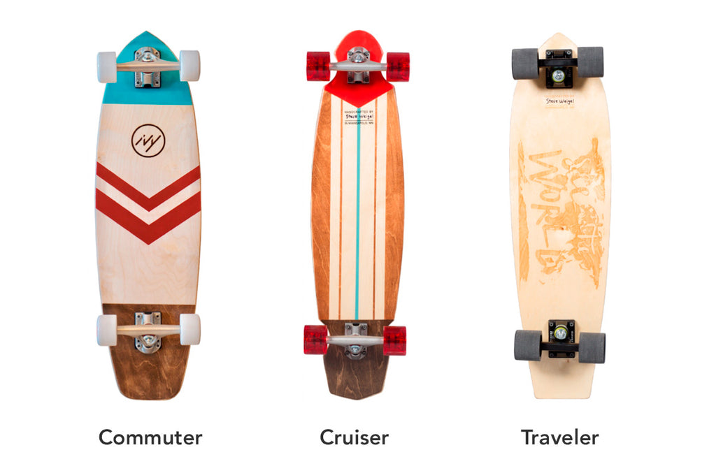 cruiser traveler commuter longboards