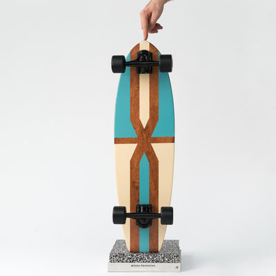 The Tan & Turquoise Longboard Series - IVY Lifestyle