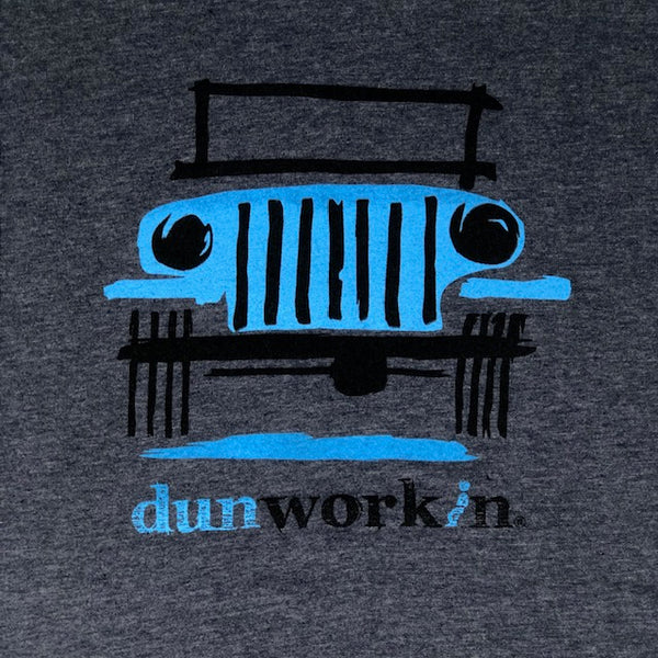 Dunworkin 4x4 Men's Lightweight Cotton/Poly Blend SS Tee