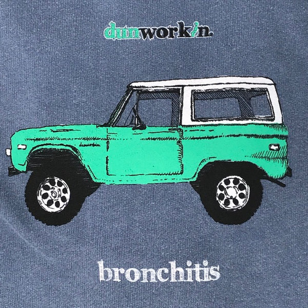 Bronchitis Unisex French Terry Hoody