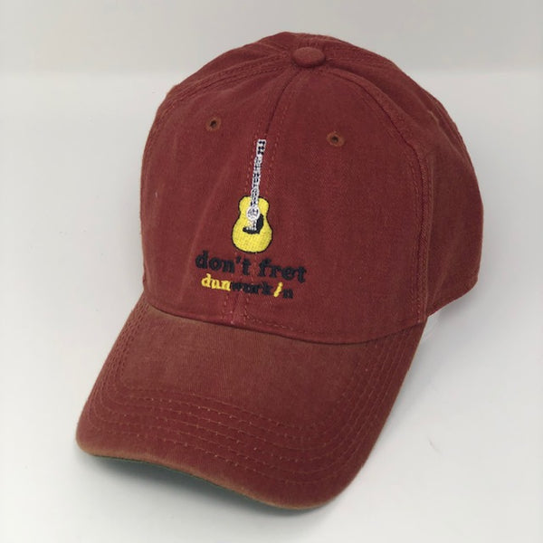 Hat Don't Fret Guitar - dunworkin