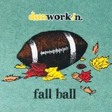Fall Ball Football Mens Short Sleeve Tee
