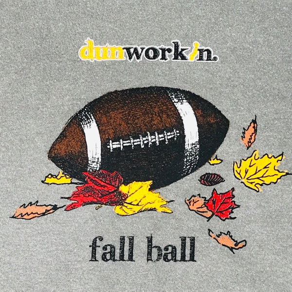 Fall Ball Football Mens Long Sleeve Tee - dunworkin