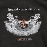 Heated Conversation Men's Long Sleeve Tee