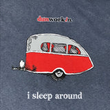 I Sleep Around Men's Short Sleeve Tee - dunworkin