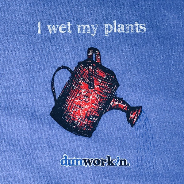 I Wet My Plants Women's French Terry Pocket Crew - dunworkin