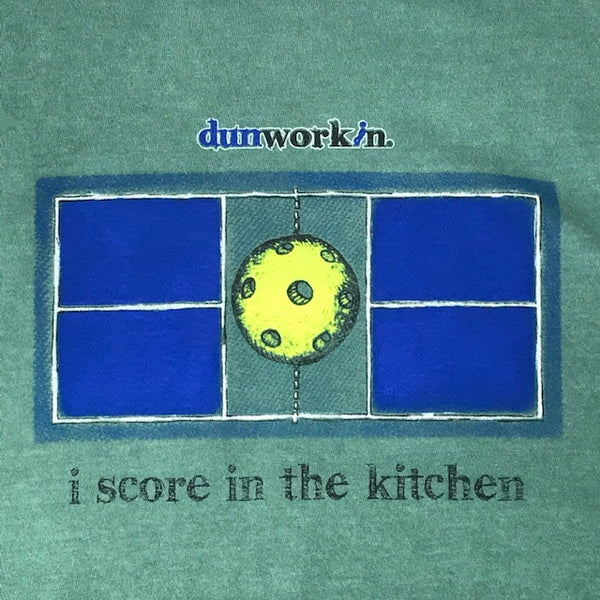 "I Score In The In The Kitchen ""Pickleball"" Men's Long Sleeve Tee"