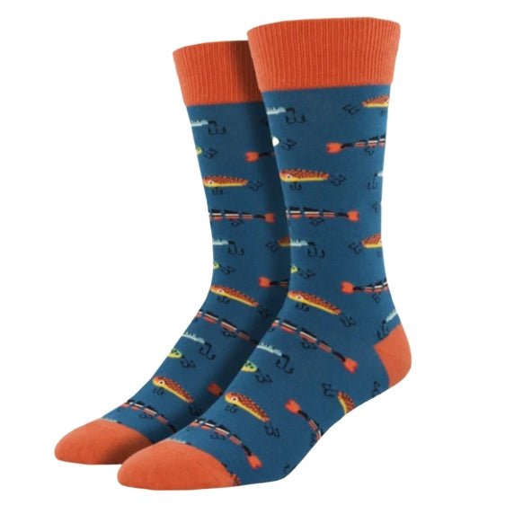 "SockSmith MEN'S ""JUST FISHIN'"" SOCKS"