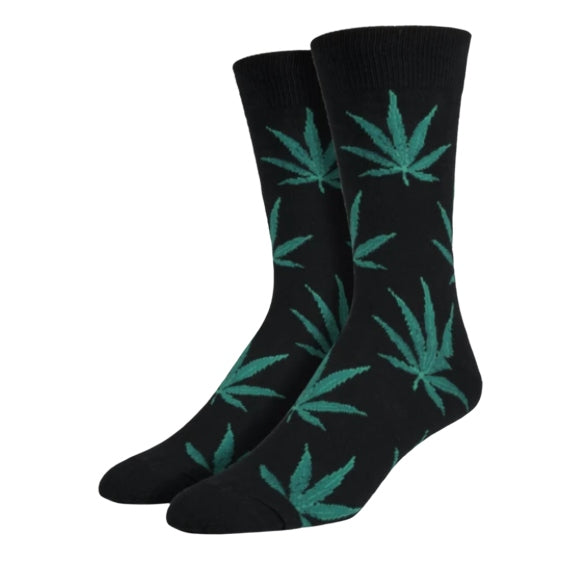 "SockSmith MEN'S ""POT LEAVES"" SOCKS"