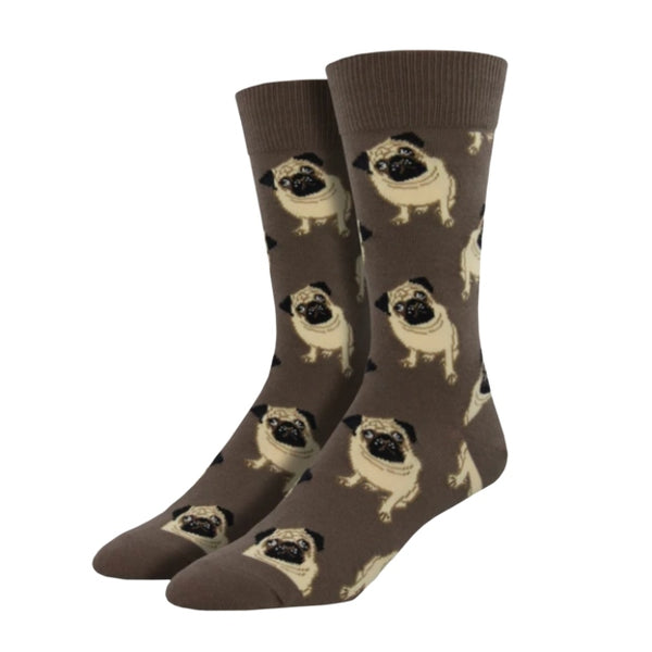 "SockSmith MEN'S ""PUGS"" SOCKS"
