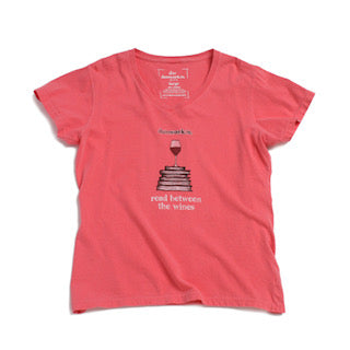 Reading Between The Wines (white wine) Women's SS V Neck
