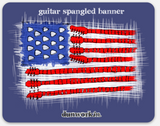 Sticker Guitar Spangled Banner 4