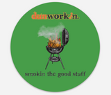 Sticker Smokin The Good Stuff