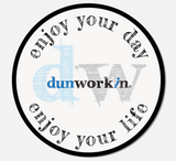 Sticker DW Dunworkin Enjoy Your Day, Enjoy Your Life 3