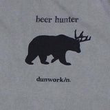 Beer hunter Short Sleeve Men's - dunworkin