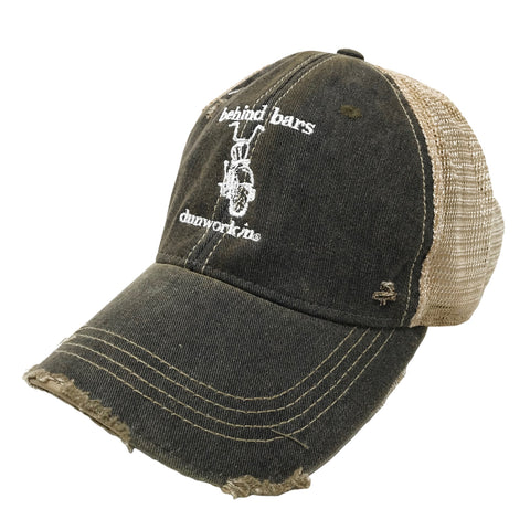 Hat Dunworkin 4x4 Distressed Trucker