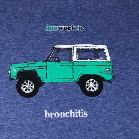Bronchitis Mens Long Sleeve Tee
