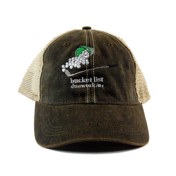 Hat Bucketlist Trucker - dunworkin