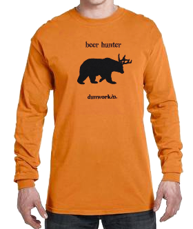 Beer Hunter Men's Long Sleeve Tee - dunworkin