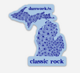 Sticker Classic Rock Die Cut - dunworkin