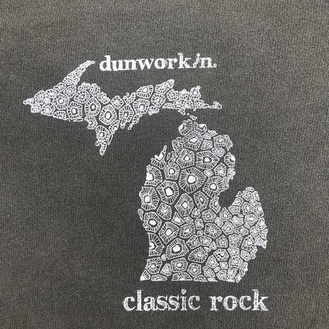 Dunworkin Classic Logo Men's Long Sleeve Tee