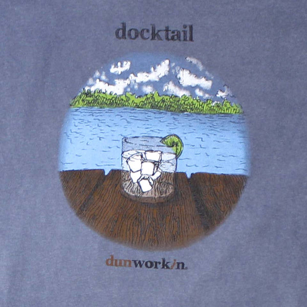 Docktail Mens Short Sleeve Tee - dunworkin