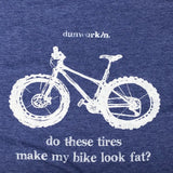 Do These Tires Make MyBike Look Fat Men's Lightweight Cotton/Poly Blend SS Tee