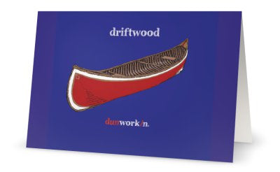 Greeting Card driftwood - dunworkin