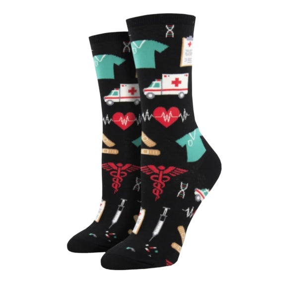 "SockSmith WOMEN'S ""HEALTHCARE HEROES"" SOCKS"