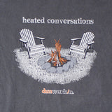 Heated Conversations Bonfire Mens - dunworkin