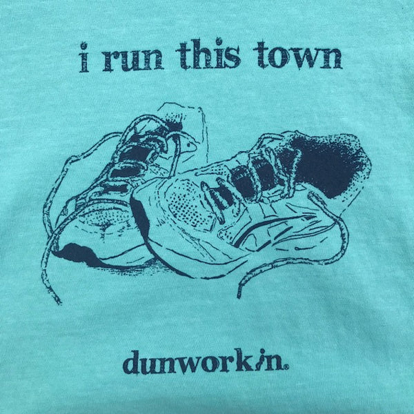 I Run This Town Women's V Neck - dunworkin