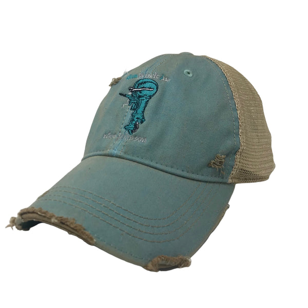 Hat Nice Johnson Distressed Trucker