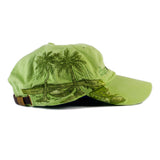 Hat Dunworkin Classic Logo With Palm Trees