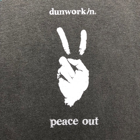 Peace Out Burnout Hoodie Women's