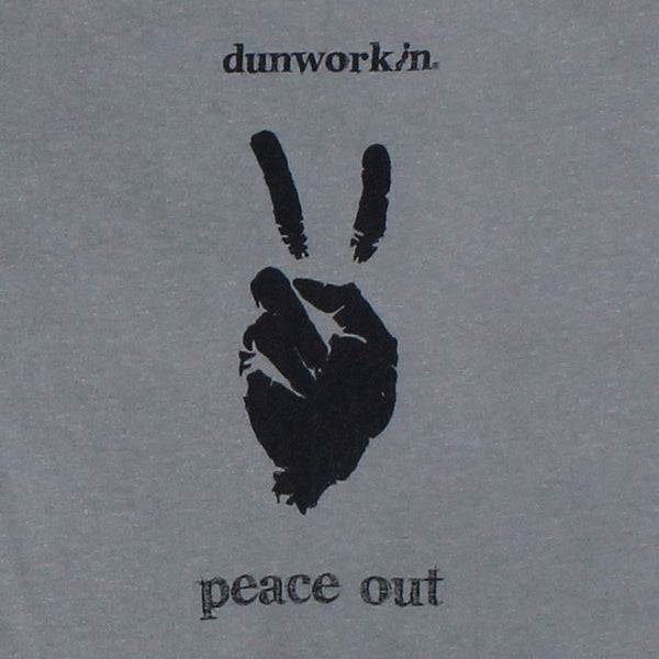 Peace Out Men's Short Sleeve Tee - dunworkin