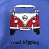 Road Tripping French Terry Unisex Pouch Pocket Sweatshirt - dunworkin